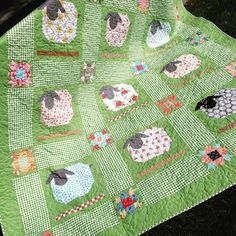 Finally, got my sheep together! This quilt was really fun to make and I…
