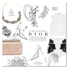 """Summer in white"" by tuilindo ❤ liked on Polyvore featuring Cameo, Oscar de la Renta, Off-White, Alberta Ferretti, Carolee, Bobbi Brown Cosmetics and L.A. Girl"