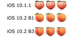 Apple recupera el emoji melocotón con aspecto de culo en la tercera beta de iOS 10.2 - http://www.actualidadiphone.com/apple-recupera-el-emoji-melocoton-con-aspecto-de-culo-en-la-tercera-beta-de-ios-10-2/