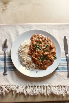 Chicken Tikka Masala | Good Cheap Eats - Ready for a quick and easy supper? This Chicken Tikka Masala is so simple to make, and it's packed with flavor from the tomato and Indian spices.