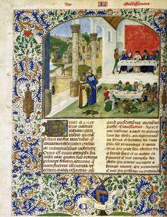 Valerius Maximus: Memorable Deeds and Sayings 1470s Manuscript (Ms. Rep. I.11b, 2 volumes), 420 x 300 mm Universitätsbibliothek, Leipzig