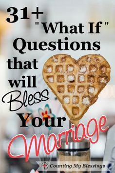 Do you ever find yourself mentally grumbling? What if he hadn't? What if she didn't? Marriage is hard but these questions will help and bless your marriage.