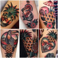 Tattoos by Kim-anh Nguyen at Salon Serpent Tattoo in Holland