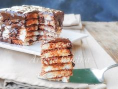 Mattonella di pancarrè con nutella, ricotta, cioccolato, dolce semplice, ricetta dolce da colazione, merenda, torta dopo cena, dolce per feste e buffet, dolce goloso