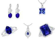 With the irresistible charm of Fall at its peak, let's celebrate the glaring instinct of December with this month's birthstone, Tanzanite. Captivating the glorious beauty of dark side of the evening blues, Tanzanite provides a touch of soothing calmness to the appearance of its wearer. Expressing a