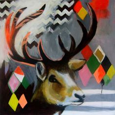 Emma Gale Ink Paintings, Alcohol Ink Painting, Australian Artists, Elk, Color Palettes, Creative Inspiration, Mixed Media Art, Collages, Art Boards