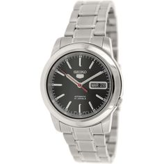 Seiko Men's 5 Automatic SNKE53K Silver Stainless-Steel Automatic Watch
