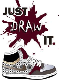 Draw poster. by Alba Del Castillo, via Behance