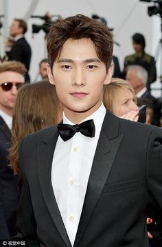Chinese actor Yang Yang 杨洋 spotted in Cannes