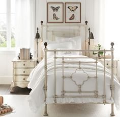 19th C. Quatrefoil Iron Bed | All Beds | Restoration Hardware Baby & Child