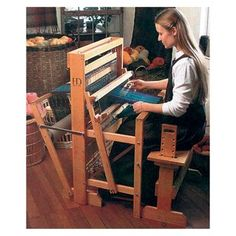 Harrisville 22/4 floor loom