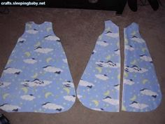 Baby Sleep Sack... need to make it in tee shirt material for the summer time