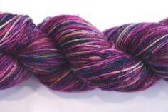 Sock - 100% British Bluefaced Leicester (superwash) yarn (PU134) by OxfordKitchenYarns