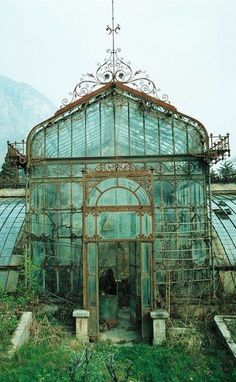 English greenhouse.