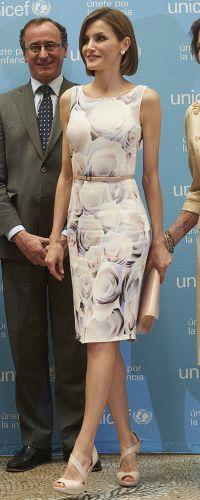"23 Jun 2015 - Queen Letizia presents her mother-in-law, Queen Sofia with the UNICEF ""Joaquín Ruiz-Giménez 2015"" prize. Click to read more >"