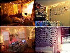 decoração com luzinhas de natal