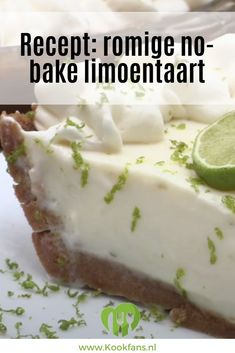 Pie Cake, No Bake Cake, Good Food, Yummy Food, Pureed Food Recipes, Sweet Pie, Pie Dessert, Piece Of Cakes, Sugar And Spice