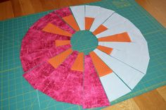 Thank you all for your interest in my Funky Dresden quilt! I had so much fun creating it, and it seems some of you would like to make one t...