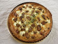 Ottolenghi's garlic tarte...