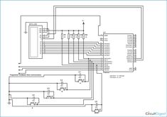 Circuit Diagram of Electronic Voting Machine