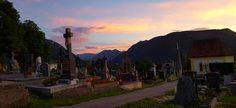#Friedhof in #Mariazell #Abendstimmung