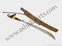 Iban Dayak Mandau sword Langgai Tinggang
