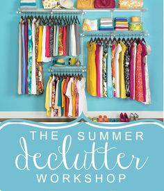 Summer declutter workshop - week 1 of 4 - what hot spot did you pick this week?