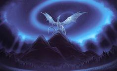 Magic of the dragon - Fantasy & Abstract Background Wallpapers on . Dragon Bleu, Ice Dragon, Black Dragon, Snow Dragon, Dragon Star, Silver Dragon, Mythical Creatures Art, Magical Creatures, Fantasy Creatures