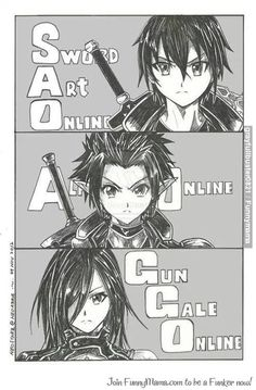 Sword Art Online 2 or Gun Gale Online! Can you believe the second season of this amazing anime is coming out tomorrow because I can't! Sword Art Online Kirito, Kirito Sword, Kirito Asuna, Wallpaper Animes, Animes Wallpapers, Sao Anime, Manga Anime, Manga Girl, Anime Girls