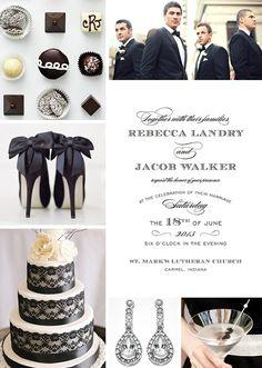 A Return to Formal Wedding Inspiration