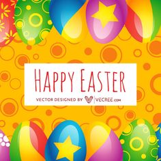 Vector Free Download, Free Vector Graphics, Free Vector Art, Bright Background, Coloring Easter Eggs, Art Tips, Vector Design, Happy Easter, Art Images