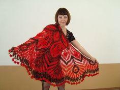 Mis Pasatiempos  Amo el Crochet: Mantòn