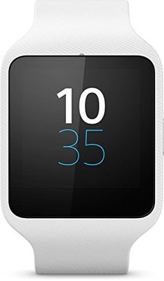 awesome Sony SmartWatch 3 SW50 - Smartwatch (Estanco al agua - clasificación IP68), blanco