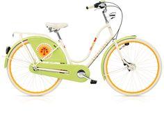 Electra Bikes Panier Liner Violet Vert Ovale Vélo Housse Sacoche