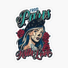 """""""From Paris with Love"""" iPad Case & Skin by arendbotha 