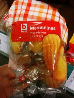 madeleines lactosevrij Colruyt