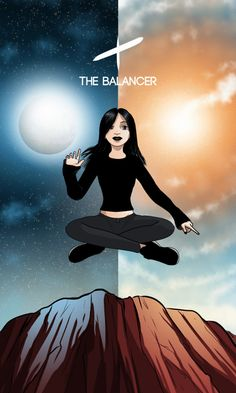 The Balancer: This Servant shows us how to keep our lives balanced and in harmony. She encourages us to keep all areas of our lives in equal proportion. Wicca, Magick, Witchcraft, Tarot Decks, Tarot Cards, The Magicians, Hogwarts, Equality, Mythology