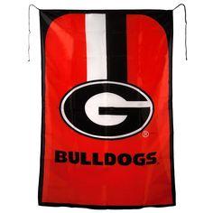 Georgia Bulldogs NCAA Team Fan Flag
