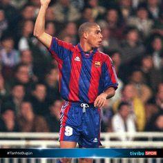 Ronaldo. 13 Ekim 1996. Barcelona'da ilk gol.