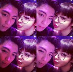 Park Bom (2NE1) & T.O.P, Choi Seunghyun (Big Bang)