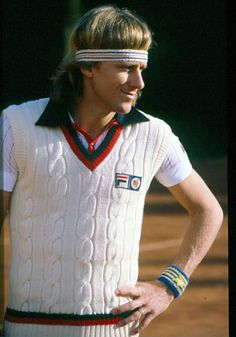 My father is a huge tennis fan and we were little kids when Bjorn Borg was king.  My father loved Bjorn Borg.  Takes me back.  RF