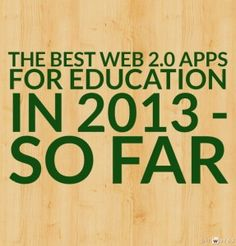Best web tools for education in 2013 Educational Websites, Educational Technology, Teaching Tools, Teaching Resources, Teaching Strategies, Middle School Technology, School Leadership, Digital Literacy, Classroom Activities