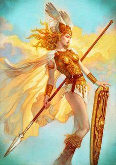 Lets find a tarot card for this character? Valkyrie Brynhildr By Tsuyoshi Nagano Fantasy Girl, Chica Fantasy, Fantasy Warrior, Character Inspiration, Character Art, Goddess Art, Athena Goddess, Norse Mythology, Gods And Goddesses
