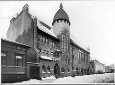 Old polytechnic student union building, Vanha Poli. Aalto, Helsinki, Louvre, Student, Building, Travel, Viajes, Buildings, College Students