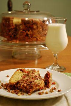 Franklin Pecan Cake ~ December 2014 County Kitchen pecan recipes