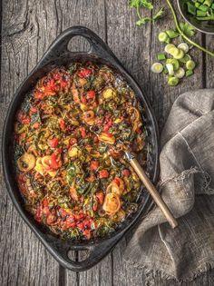 Vegan Vegetarian, Vegetarian Recipes, Paella, Vegetables, Ethnic Recipes, Food, Veggies, Vegetable Recipes, Meals