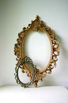 Vintage Baroque Frames  photography print by CaptainCat on Etsy, $12.00