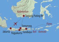 Rundreise Zentral-Indonesien