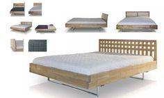 Nowoczesne łóżka drewniane M1