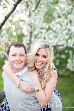 Cherry blossom engagement session washington dc. Aharon Hill Photography